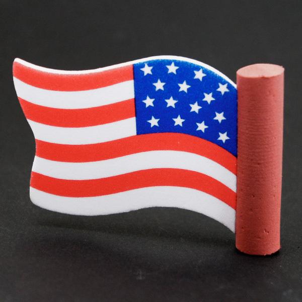 アメリカン ウェイビング フラッグ アンテナボール アンテナトッパー 車 目印 USA アメリカ 国旗 星条旗 アメ車 【メール便OK】_画像3
