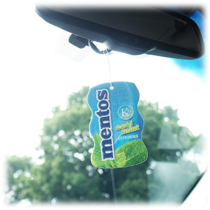メントス エアフレッシュナー ミント Mentos Air Fresheners 芳香剤 車 部屋 吊り下げ USA【メール便OK】_画像4