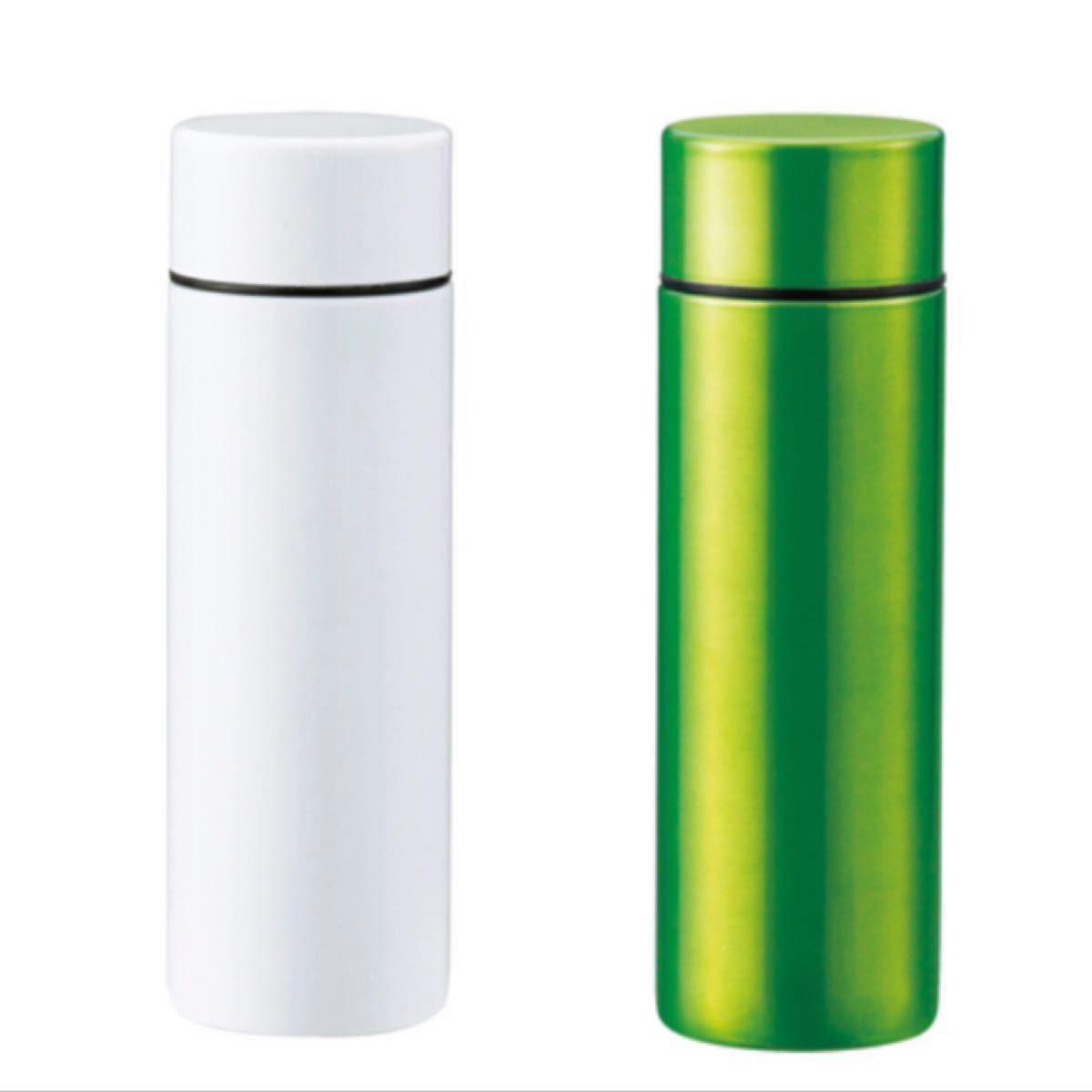 140ml サーモボトル ポケットサイズ 真空 二重構造 ステンレスボトル 5本