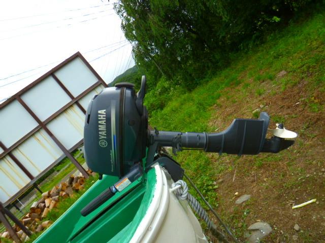 「●和船ヤマハ18f 船舶有効令和7/11/26迄(^^)/除菌洗浄済 全面塗装済!!」の画像2