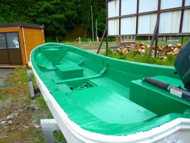 「●和船ヤマハ18f 船舶有効令和7/11/26迄(^^)/除菌洗浄済 全面塗装済!!」の画像3