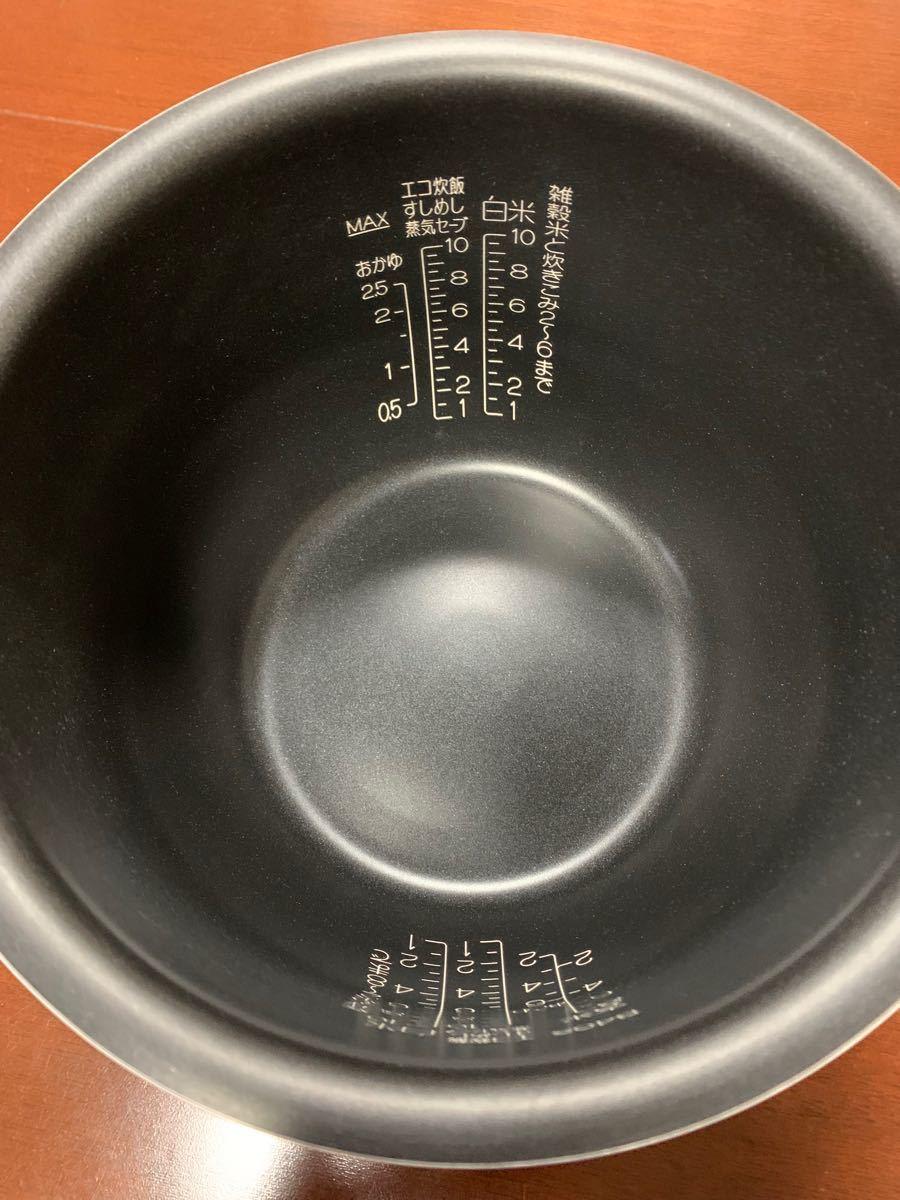 象印 炊飯器内釜 B408-6B 10合炊き用内釜 羽釜Ring プラチナ厚釜 B408 6B  新品 未使用