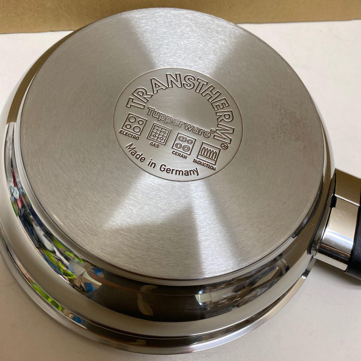 タッパーウェア IH対応品 フライパン 内径約20cm