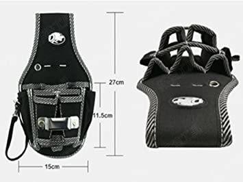 Aタイプ 工具袋 作業効率の良い機能設計 工具用ウエストバッグ 工具差し 大工 ポーチ腰袋 電工用 ベルトポーチ ツ_画像2