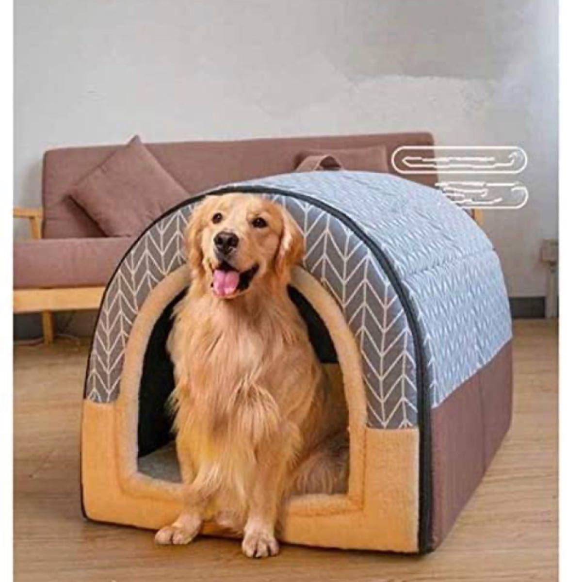 ペットベッド ペットハウス 小型犬 ワンちゃん猫ちゃん兼用 ペット用品 あったか