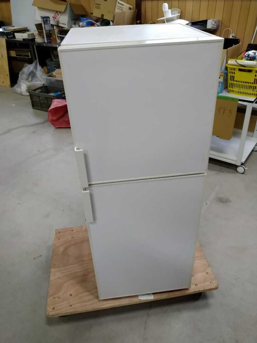 2015年 無印良品 MUJI 冷凍冷蔵庫 AMJ-14D-1 冷蔵庫 冷凍庫 137L ノンフロン 人気デザイン