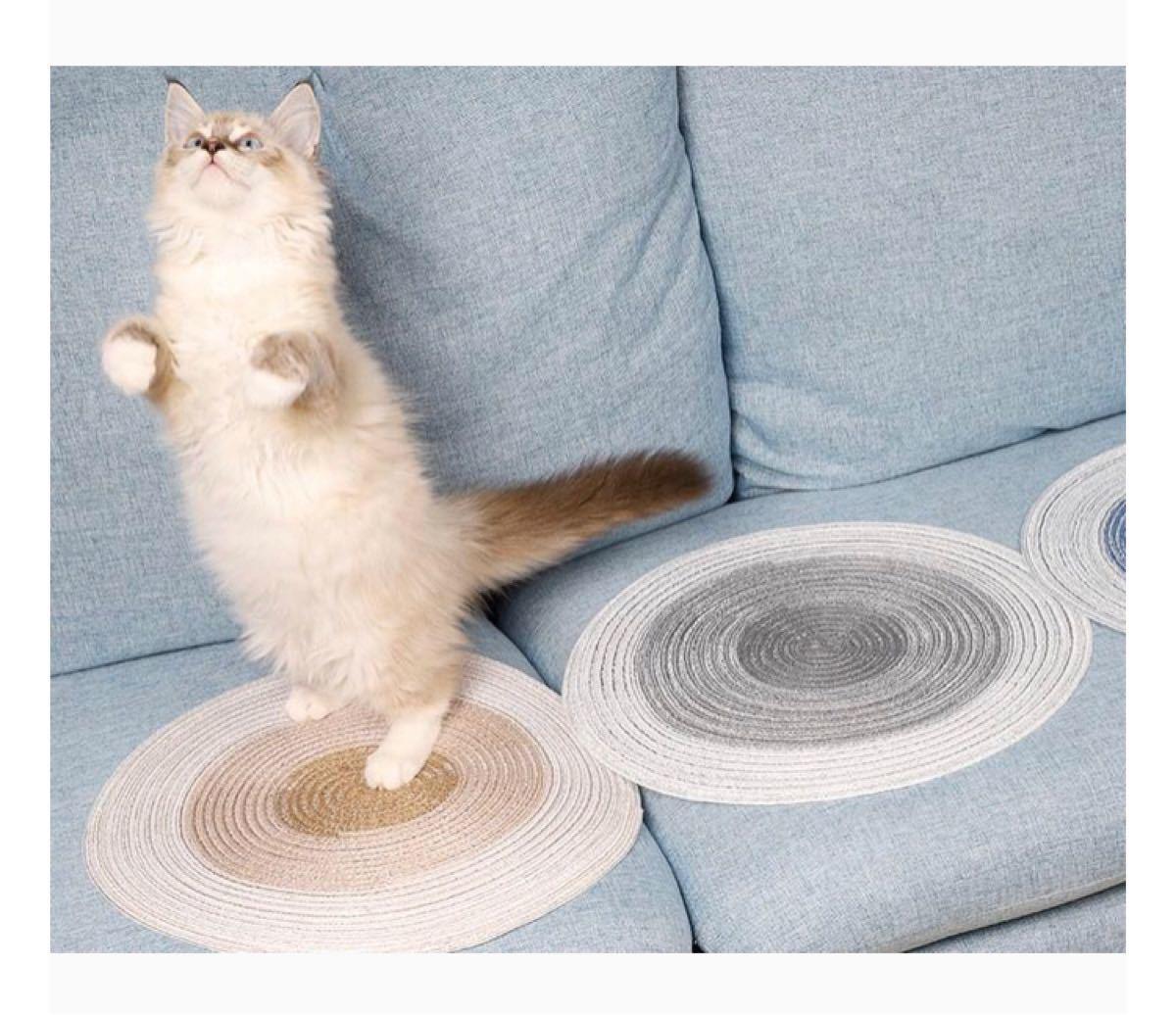 猫 爪とぎ スクラッチマット ネコちゃん マット ねこ用品