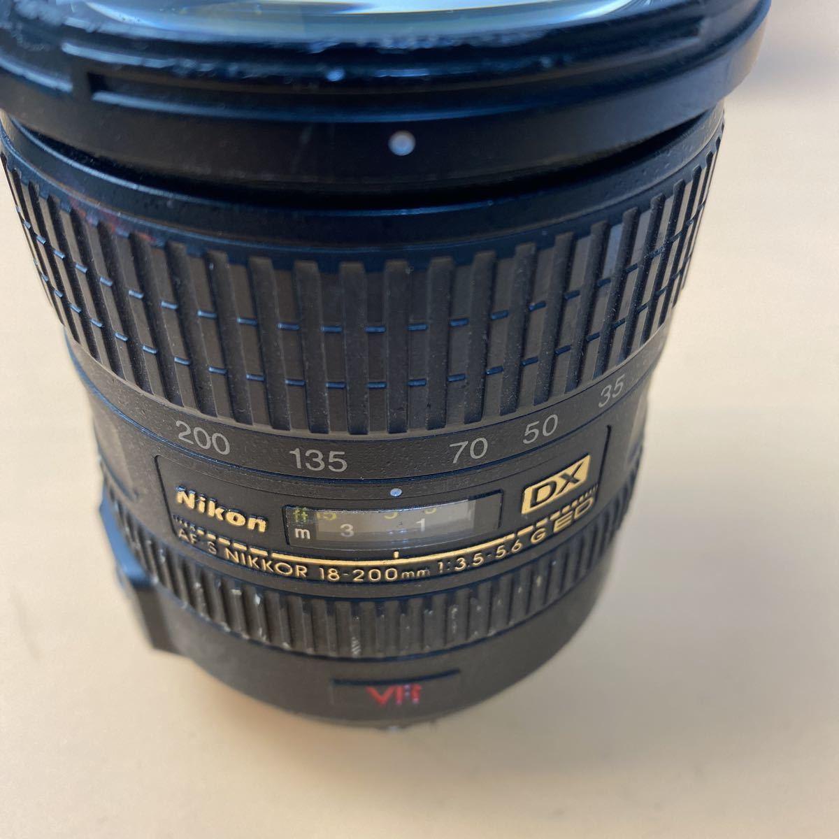 I円から~~ Nikon AF-S DX NIKKOR 18-200mm F3.5-5,6G ED VR 一眼レフ C-256