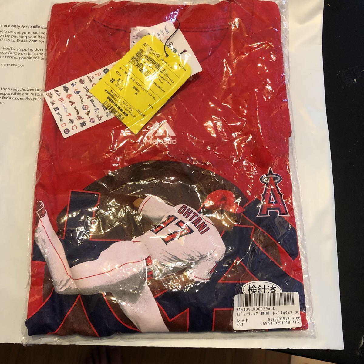 大谷翔平 超レア マジェスティック エンジェルス Angels Tシャツ WBC ユニフォーム 日本代表 レプリカ 刺繍タイプ 出品中 XL