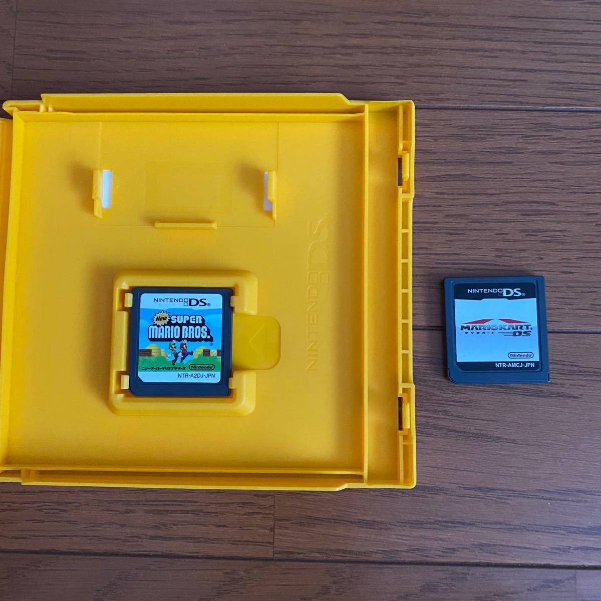 マリオカート&ニュースーパーマリオブラザーズ DSソフト