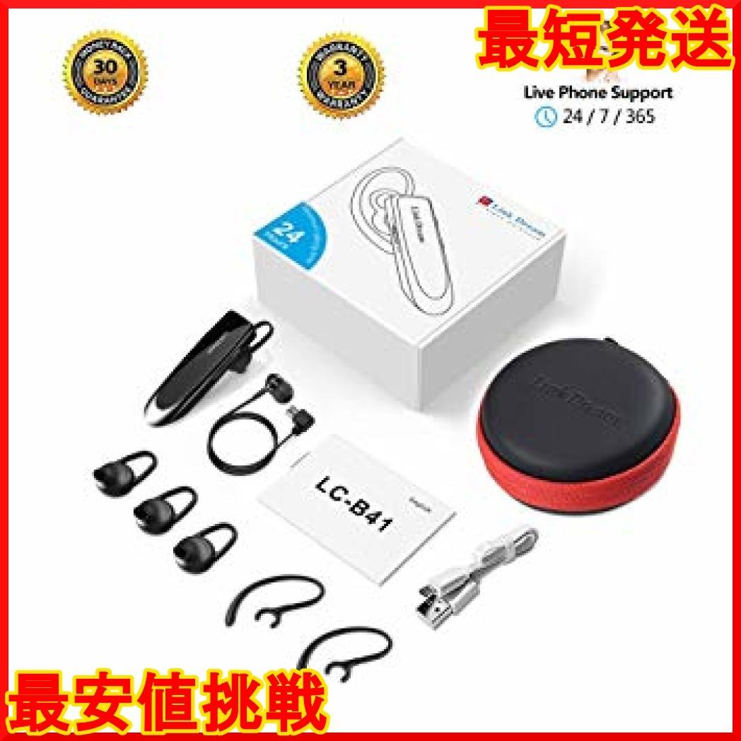 【在庫限り】 黒 マイク内蔵 日本語音声 高音質 片耳 QXo5Y ハ V4.1 ヘッドセット ワイヤレス Bluetooth _画像6