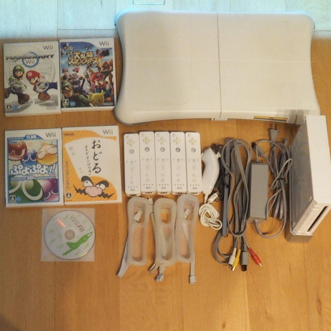 Wii 本体セット、ソフトセット
