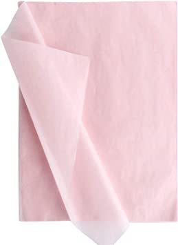 【本日限り】 ピンク 包装紙 薄い 35*50CM 梱包 ラッピングペーパー 100枚入 インナーラップに 薄葉紙 業務用 Su_画像1