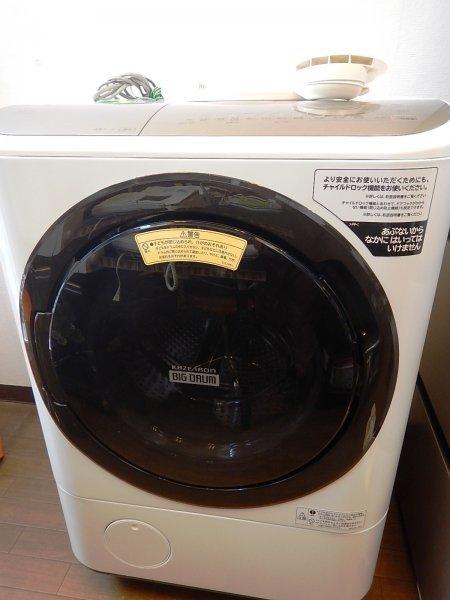 3635 【超美品!】HITACHI/日立「ドラム式洗濯乾燥機 BD-NY120FL(W)」12/7kg 2021年製 ビッグドラム