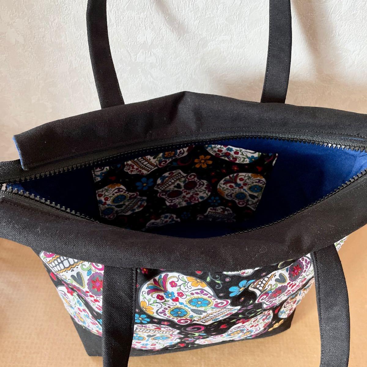ハンドメイド バッグ トートバッグ ハンドバッグ シュガースカル メキシカン