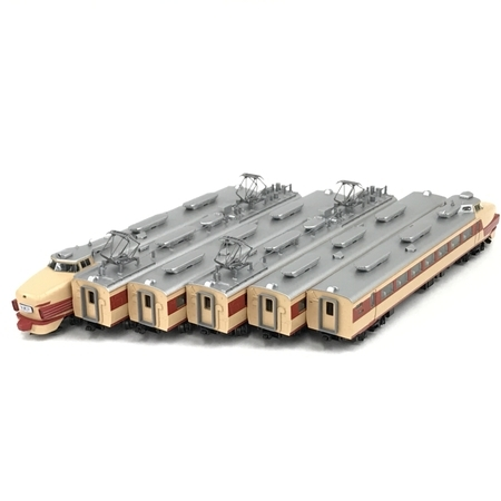 TOMIX 92748 国鉄485系 特急電車 初期型 6両 基本セット Nゲージ 鉄道模型 中古 美品 N5798010