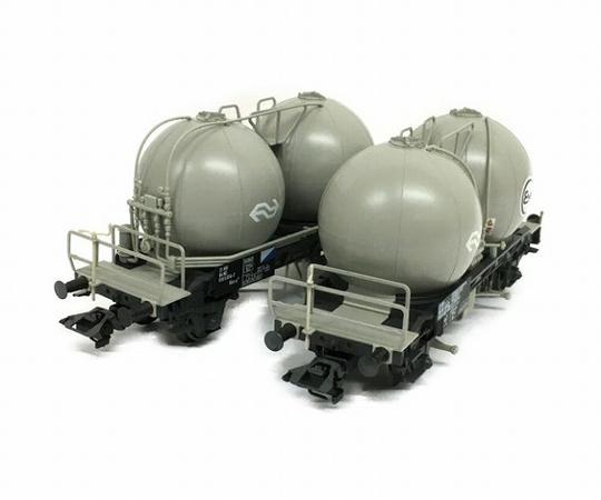 メルクリン Marklin 46623 47448 タンク車 貨車 コンテナ 4両セット 2箱 HOゲージ 鉄道模型 ジャンク T5798705