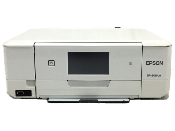 EPSON EP-808AW Colorio インクジェット プリンター 2016年製 エプソン 家電 中古 T5753363