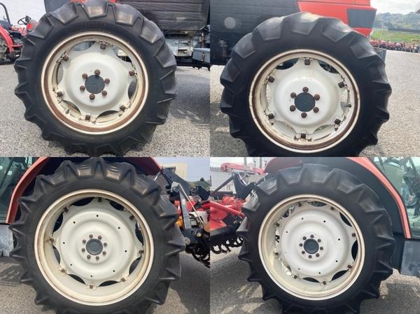 鳥取県 鳥取市 クボタ GM64 QBSMAXL 64馬力 トラクター 自動耕深 倍速ターン 逆転 4WD キャビン バックアップ 直 P5559775_画像10