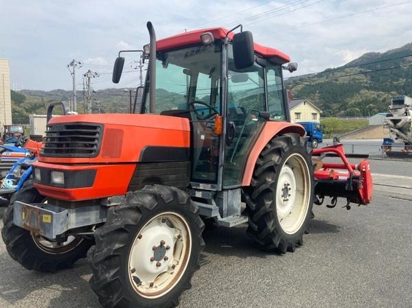 鳥取県 鳥取市 クボタ GM64 QBSMAXL 64馬力 トラクター 自動耕深 倍速ターン 逆転 4WD キャビン バックアップ 直 P5559775_画像1
