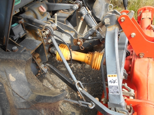 愛知県 名古屋市 クボタ トラクター GL240 24馬力 1009h 4WD ロータリー キャビン ホーン ライト 貿易 輸出 直 N5695487_画像4