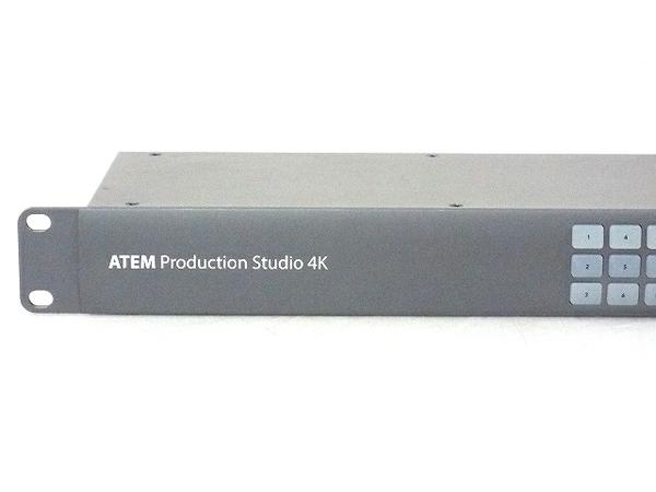 Blackmagicdesign ATEM Production Studio 4K ライブプロダクションスイッチャー ジャンク T5781050_画像2