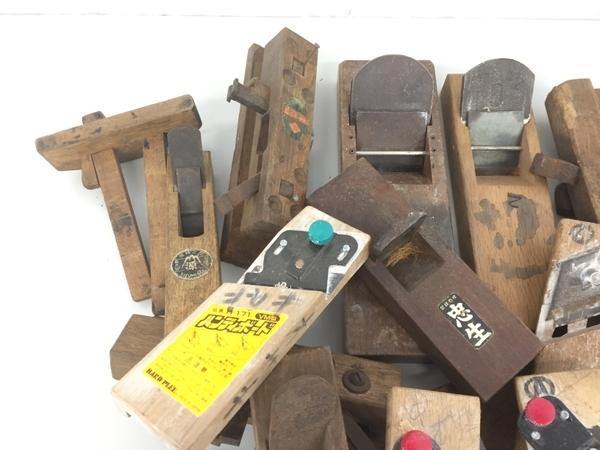 【1円】メーカー不明 鉋 かんな DIY 大工道具 おまとめ セット ジャンク K5782528_画像2