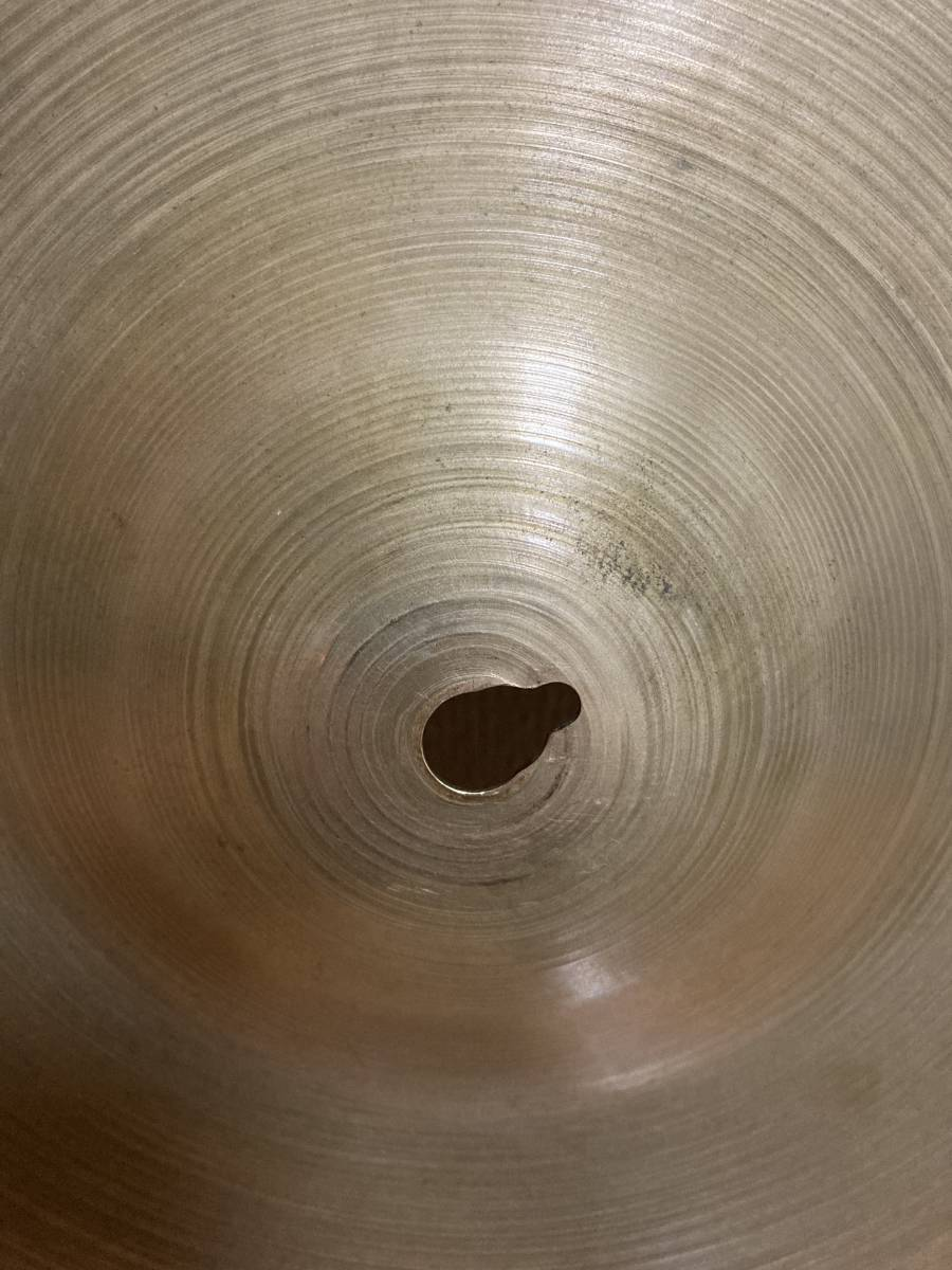 """ZILDJIAN trans stamp 1939-55' 24"""" 3300g レア old A_キーホールあり。"""