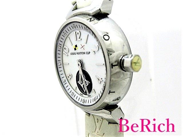 ルイ ヴィトン Q12M0 タンブール ラブリーカップ レディース 腕時計 クォーツ SS/ラバー LOUISVUITTON 【中古】【送料無料】 mk2439_画像2