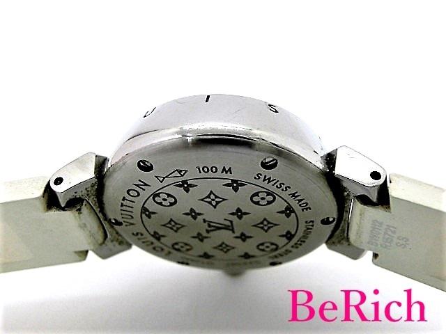 ルイ ヴィトン Q12M0 タンブール ラブリーカップ レディース 腕時計 クォーツ SS/ラバー LOUISVUITTON 【中古】【送料無料】 mk2439_画像4