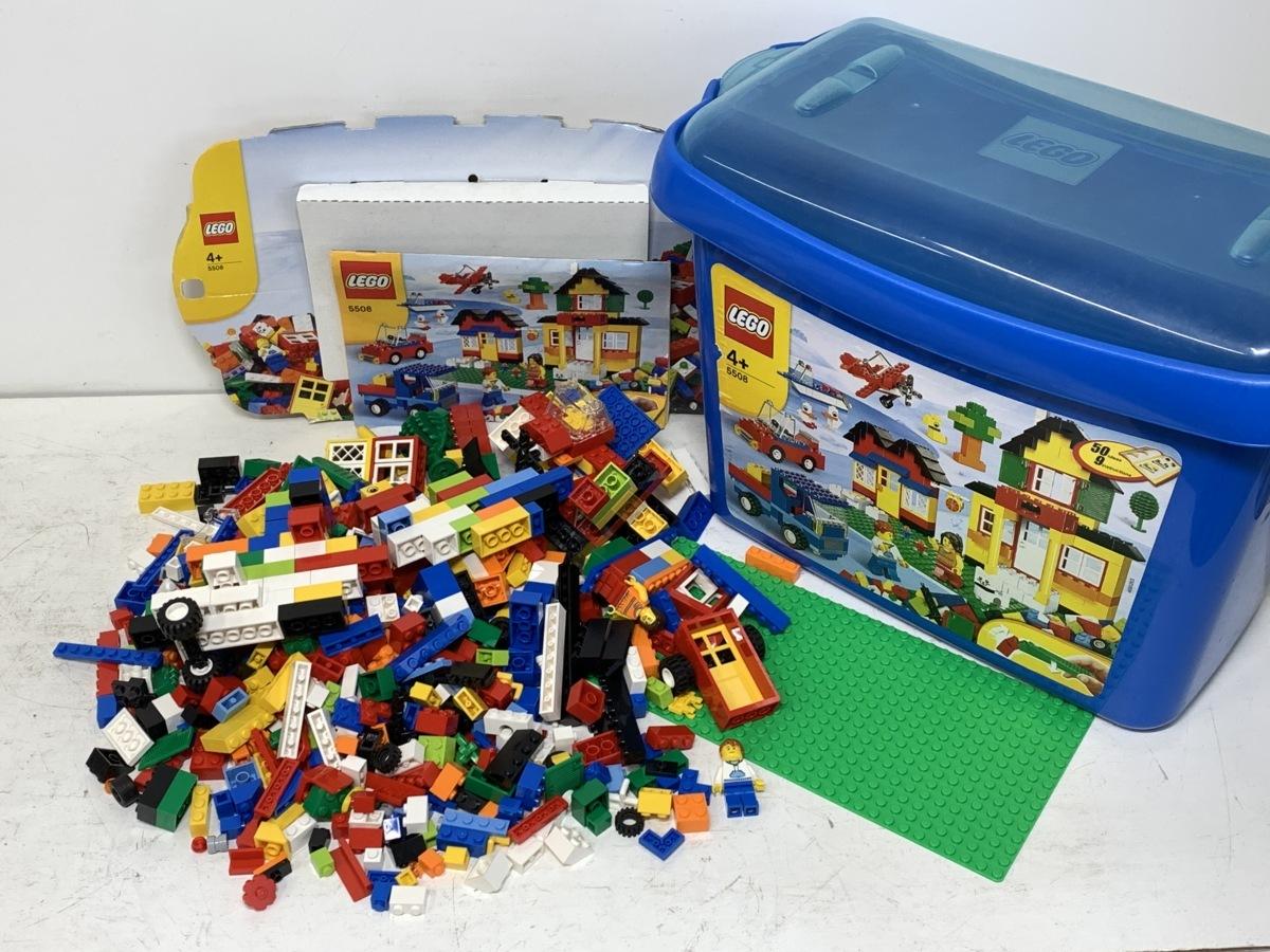 【ジャンク】LEGO レゴ◆5508 基本セット 青のコンテナ スーパーデラックス/6751 レッドドラゴン/4998 ステゴサウルス □_画像2
