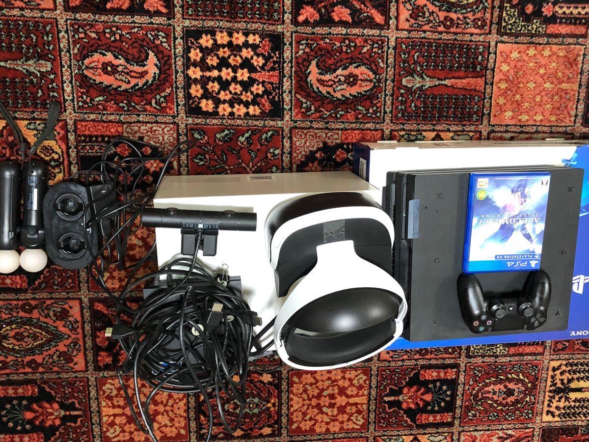PS4 Pro 1TB, PSVR セット