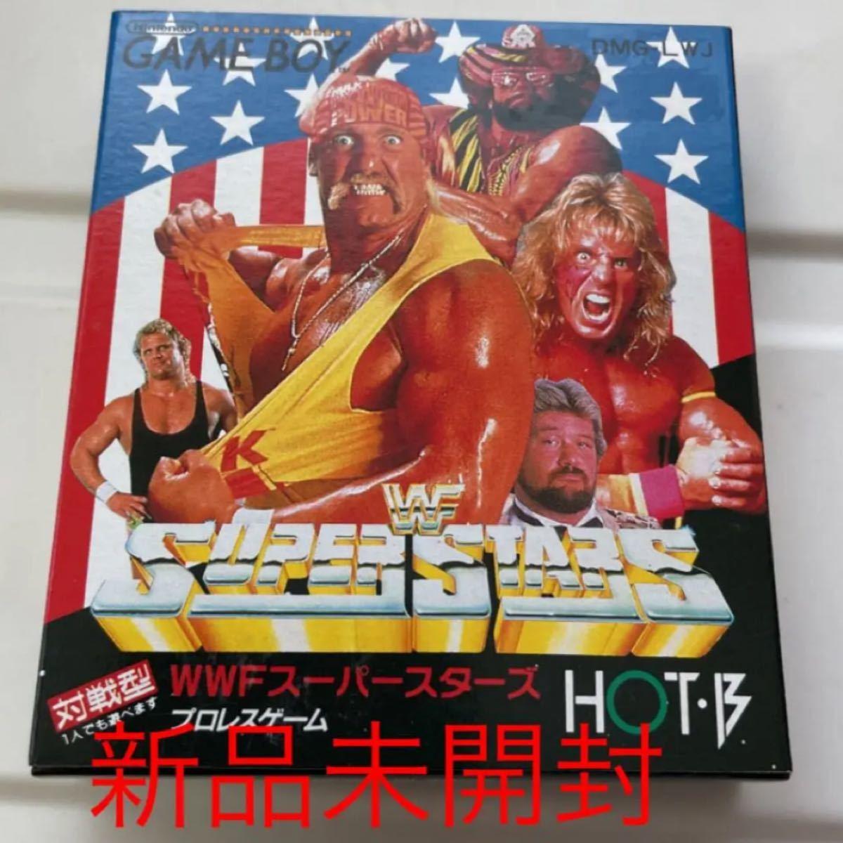 【ゲームボーイ ソフト】WWFスーパースターズ プロレスゲーム