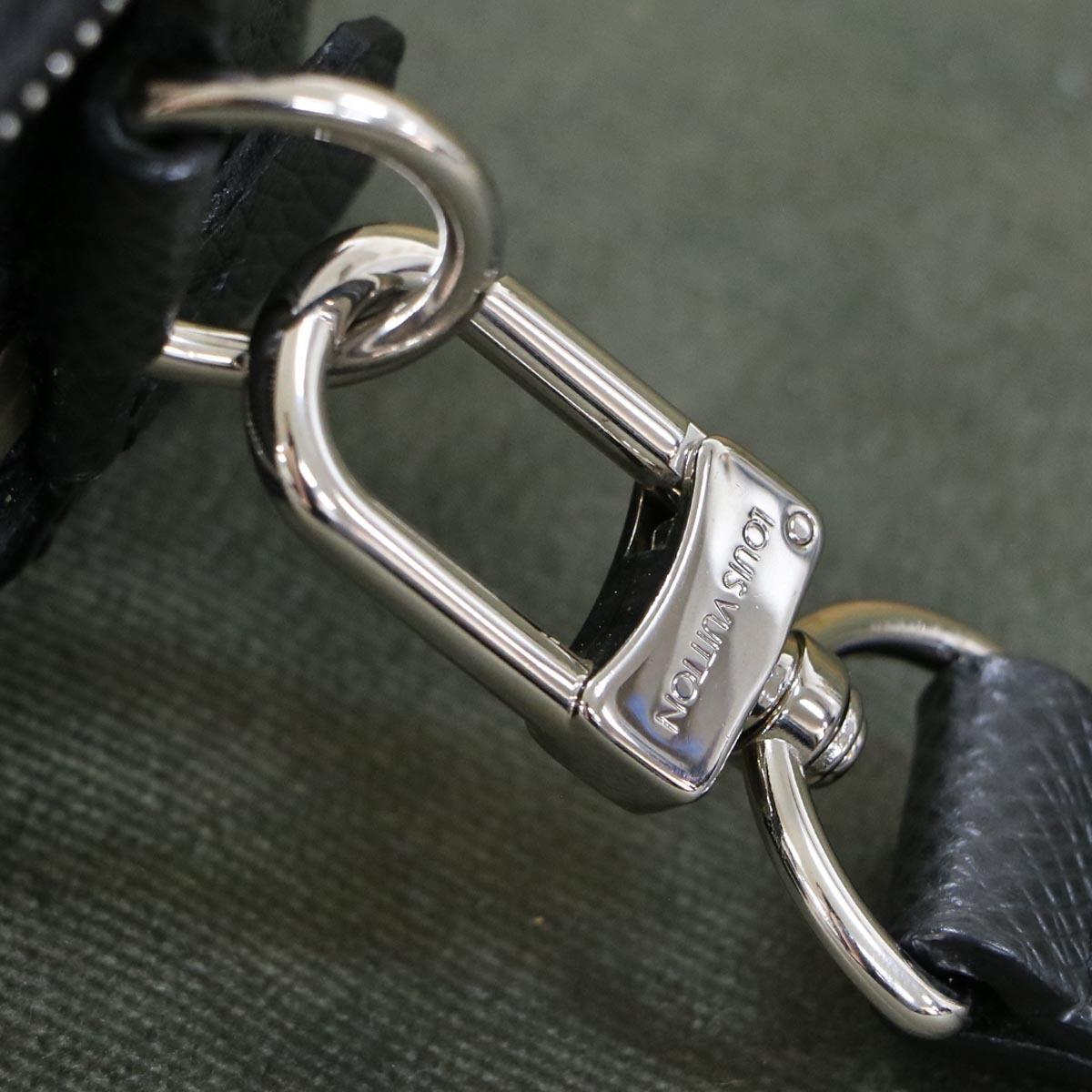 本物 極上品 ルイヴィトン タイガレザー カサイ メンズセカンドバッグ アルドワーズ SV金具 ストラップ付きクラッチバッグ LOUIS VUITTON_画像5