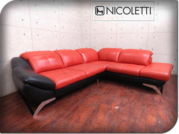 ■展示品■NICOLETTI/ニコレッティ■イタリア最高級■CONTE/コンテ■総革■ハイクラスモ