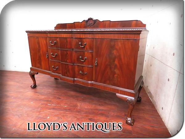 ■美品■Lloyd's Antiques/ロイズアンティークス■英国最高級■Real Antique■BUCKLEY&PROCKTER■マホガニー■サイドボード/50万/sww6288t_画像1