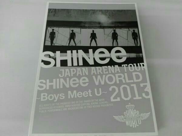 JAPAN ARENA TOUR SHINee WORLD 2013~Boys Meet U~(初回限定版 ライブグッズの画像