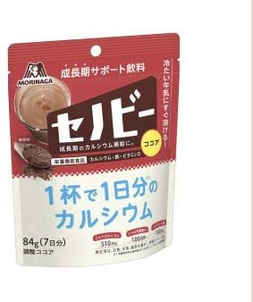 森永製菓 セノビー 84g袋×10袋入 [栄養機能食品] 1杯で1日分のカルシウム_画像2