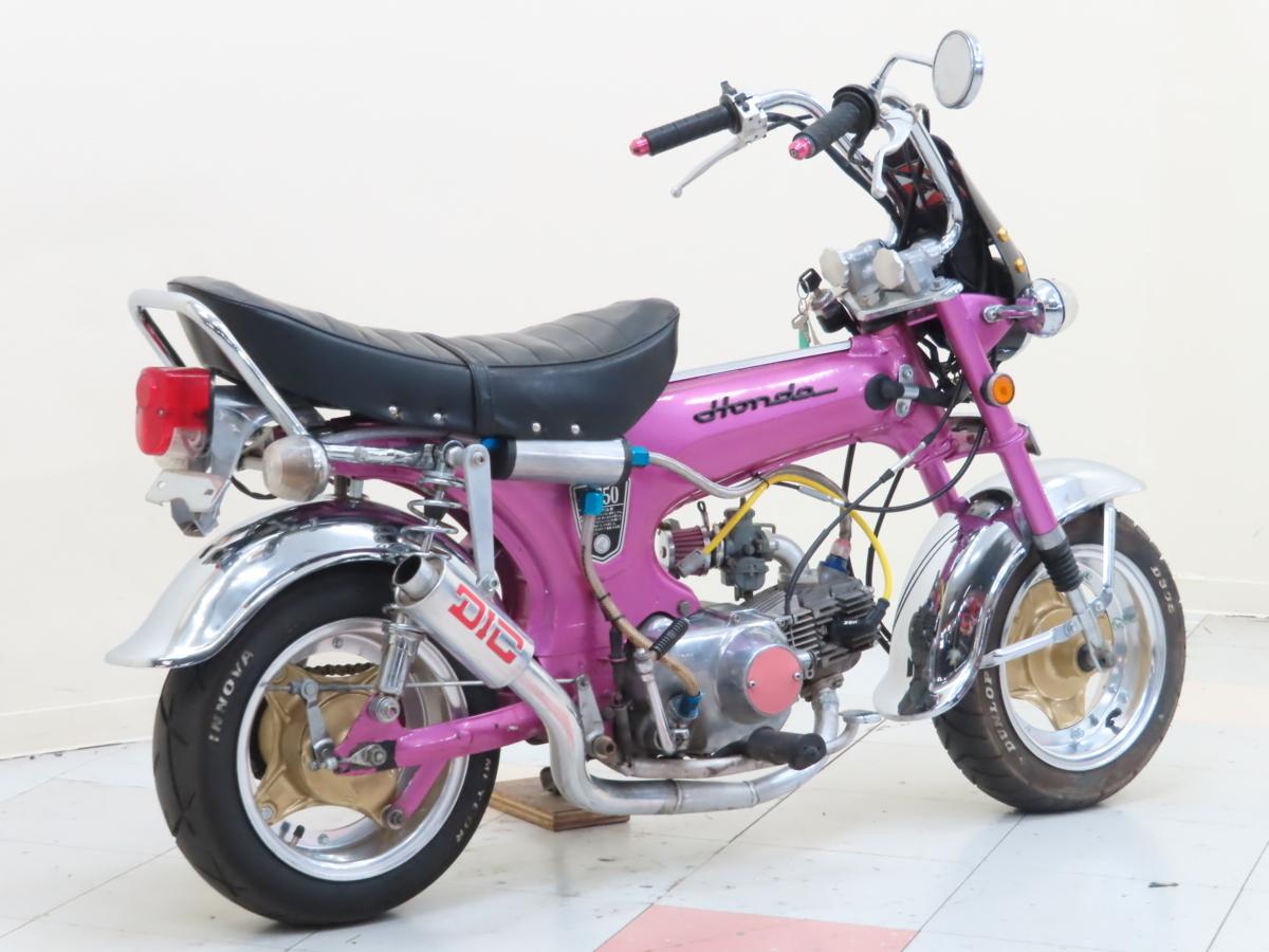 「特別出品!! ホンダ ダックス50 【動画有】ローン可 88cc ボアアップ 原付2種 カスタム多数 DAX HONDA 売り切り」の画像2