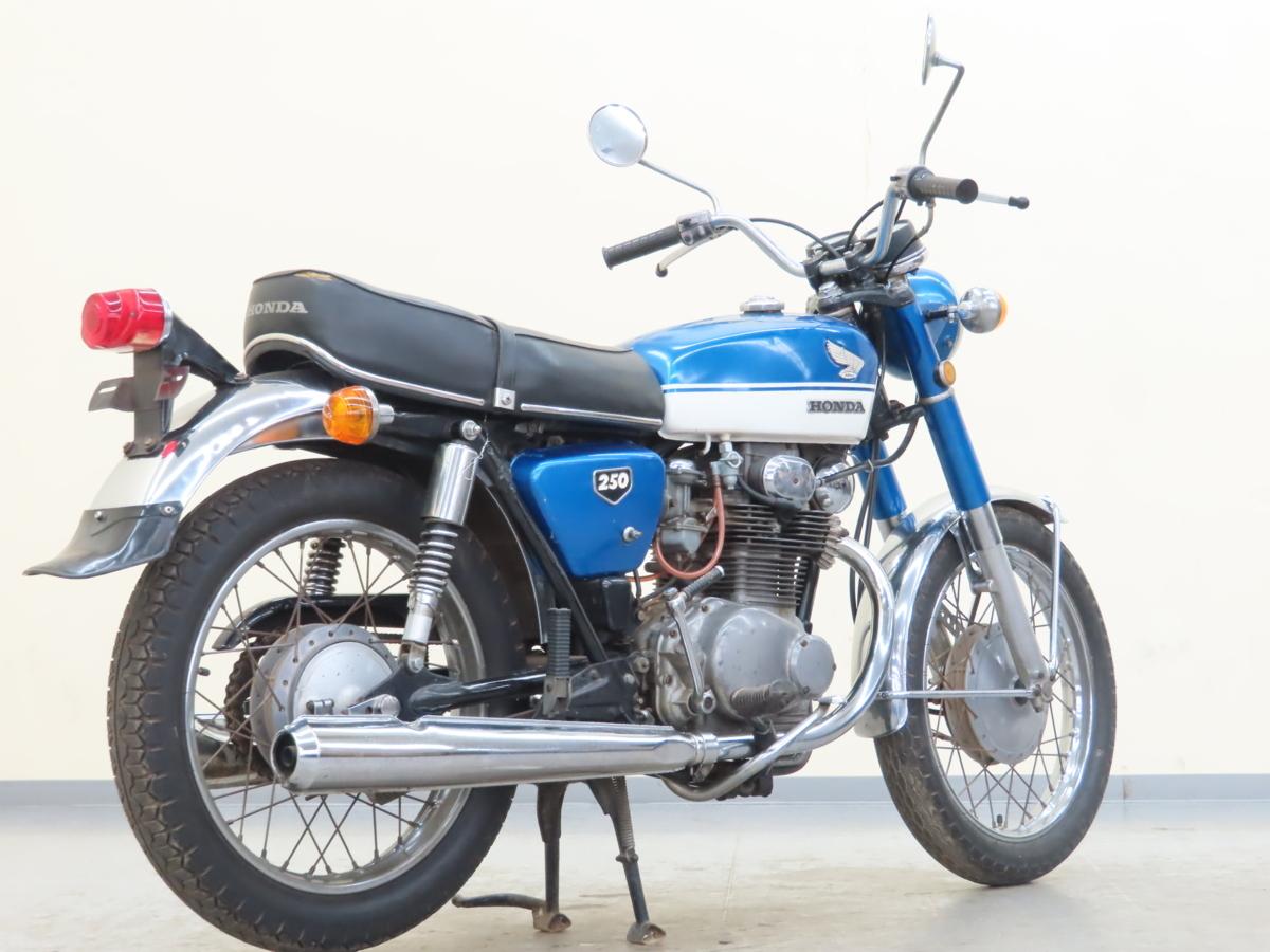 「特別出品!! ホンダ ドリームCB250 【動画有】ローン可 旧車 250cc 登録書類有 エクスポート HONDA 売切り」の画像2