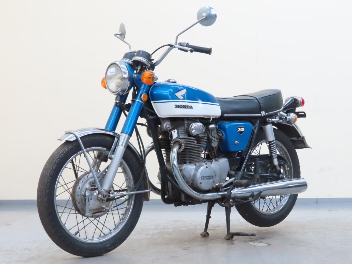 「特別出品!! ホンダ ドリームCB250 【動画有】ローン可 旧車 250cc 登録書類有 エクスポート HONDA 売切り」の画像3