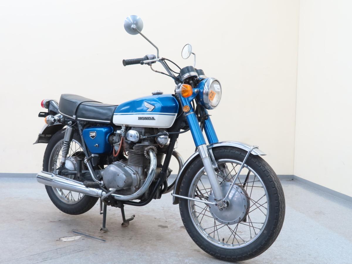 「特別出品!! ホンダ ドリームCB250 【動画有】ローン可 旧車 250cc 登録書類有 エクスポート HONDA 売切り」の画像1