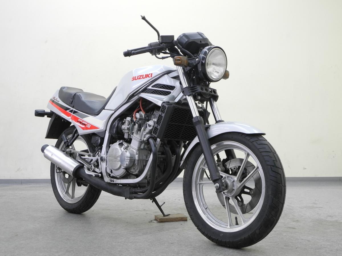 「特別出品!! スズキ GF250 【可動確認済】ローン可 旧車 4気筒 250cc GJ71C SUZUKI 売り切り」の画像1