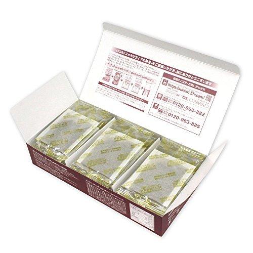 165g(5.5gティーバッグ×30包) ハーブ健康本舗 モリモリスリムプレミアム (ハト麦茶風味) 30包入り_画像2