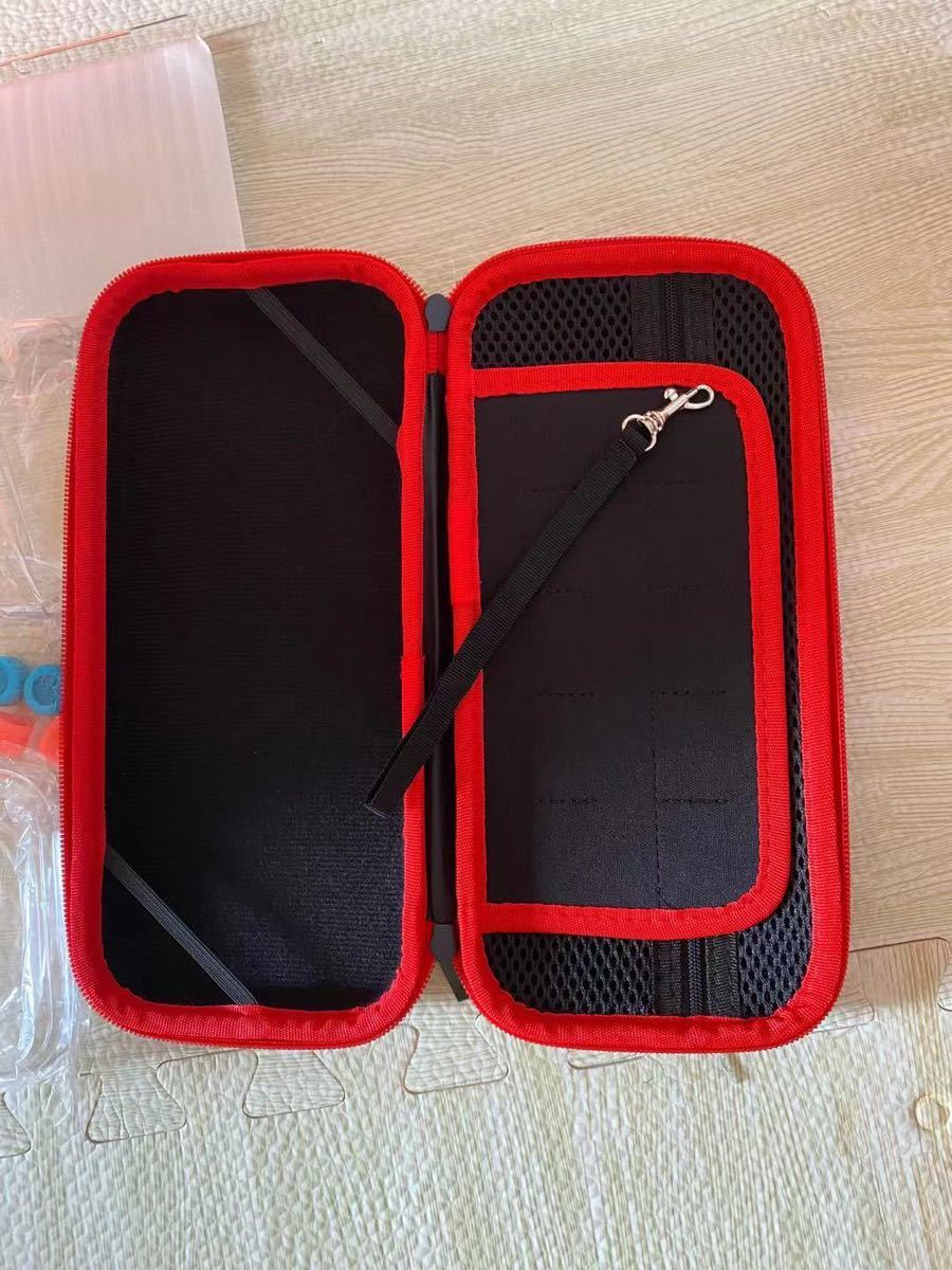 Switch ケース ニンテンドースイッチ 保護カバー 収納  耐衝撃 小物収納可ナイロン素材