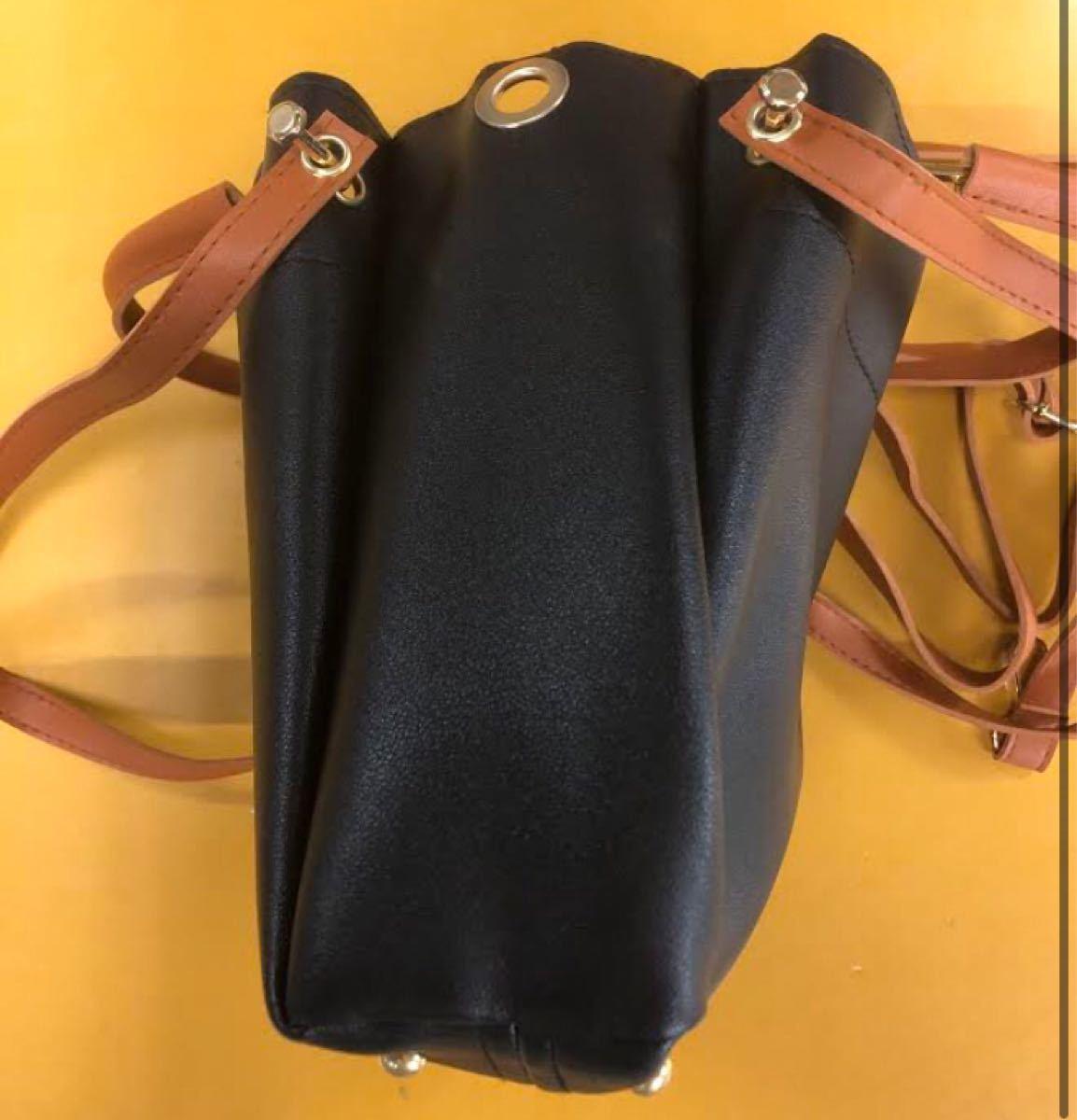 トートバッグ 2way ハンドバッグ ショルダーバッグ 2wayバッグ 保存袋 ブラック オフィスバック おしゃれ 綺麗