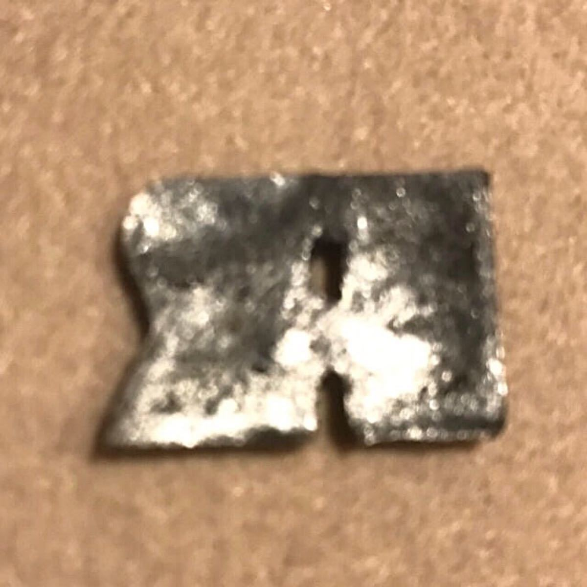 ワッペン ラッセルアスレチック アイロンワッペン RUSSEL ATHLETIC 濃紺×グレー