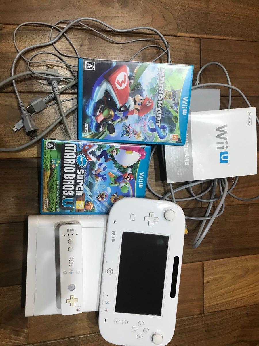WiiU本体 リモコンプラス マリオカート8 newスーパーマリオブラザーズU