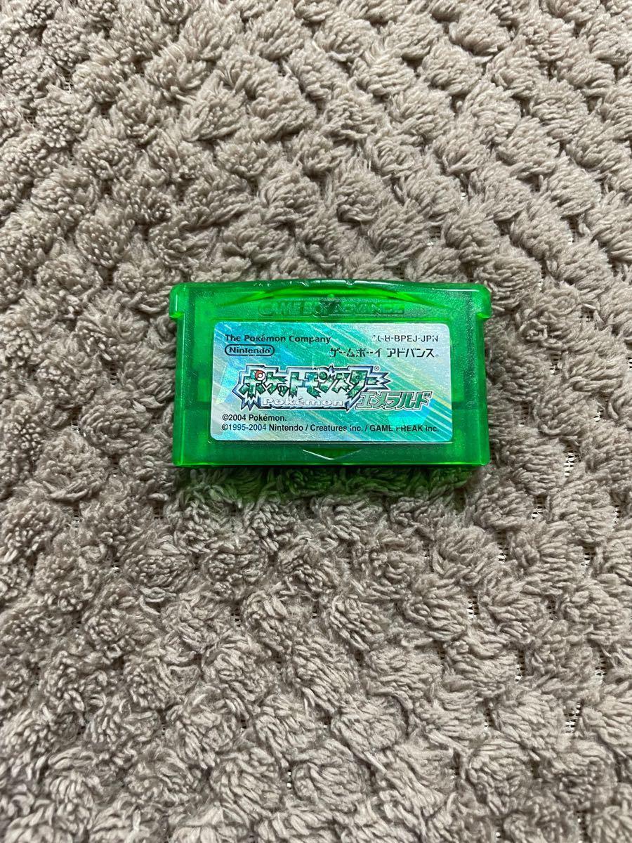 ポケットモンスターエメラルド ポケモンエメラルド GBA ゲームボーイアドバンス ソフト