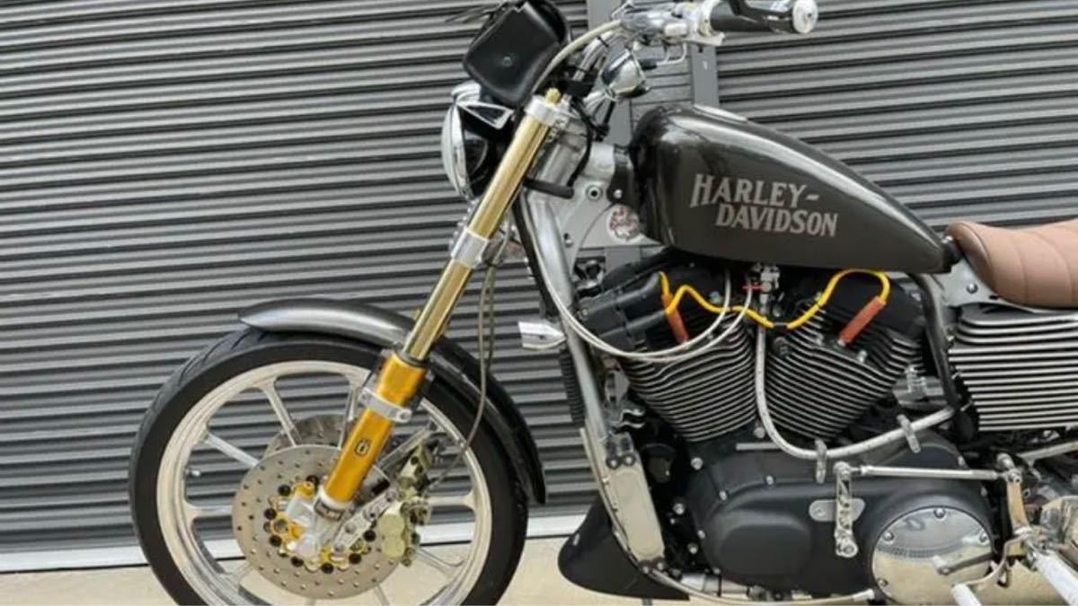 「ハーレーダビッドソン XL1200R フルカスタム スポーツスター」の画像3